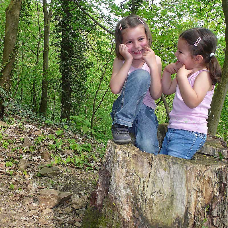 Kinder in der Natur