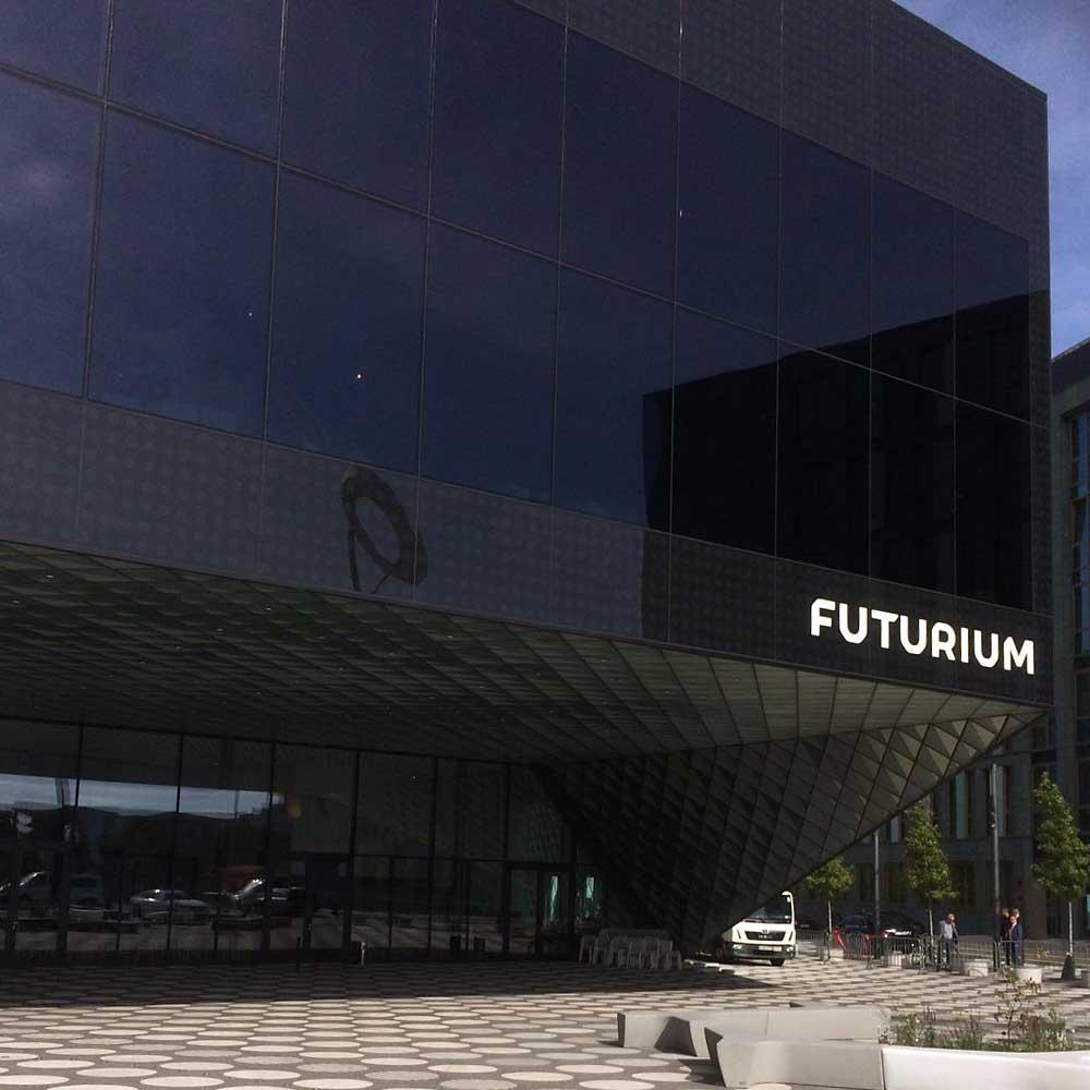 Fürs Futurium in Berlin blieb leider keine Zeit - hoffentlich das nächste Mal ...