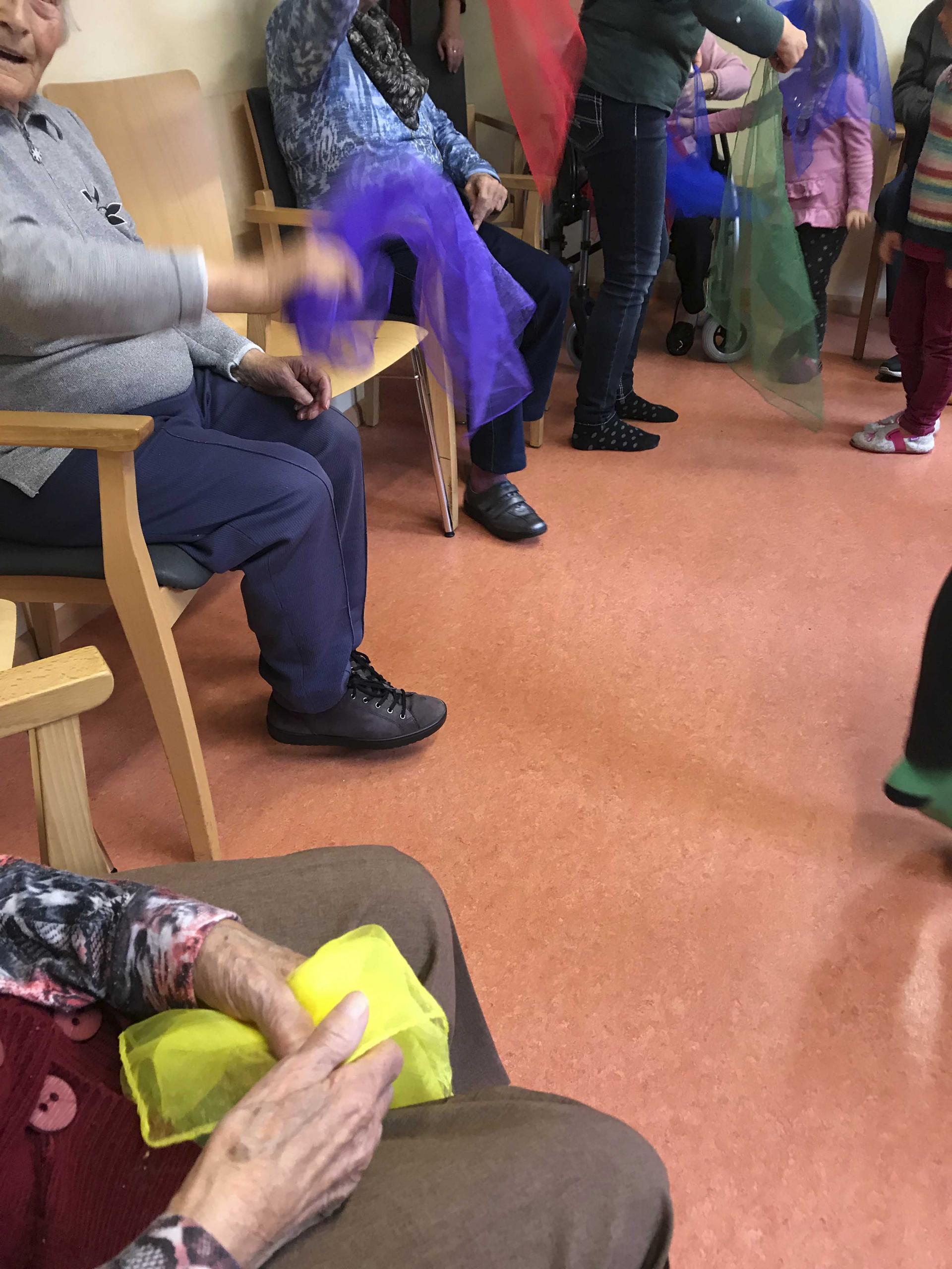 Besuch bei den Senioren in der Sozialstation